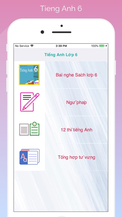 Tieng Anh 6 FV screenshot 1