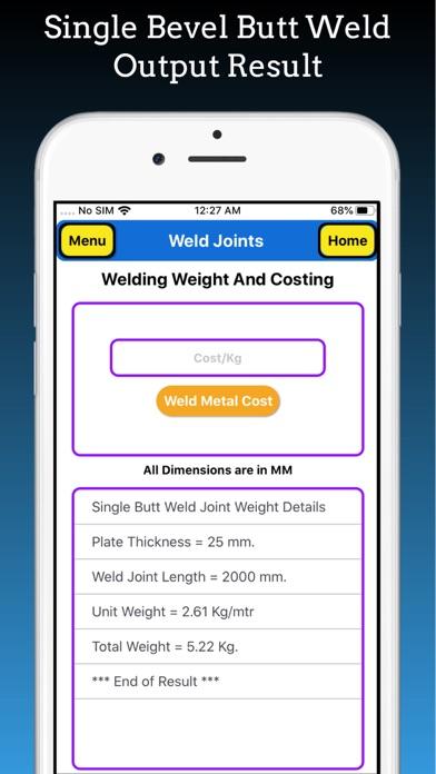 Welding Weight Calculator screenshot 8