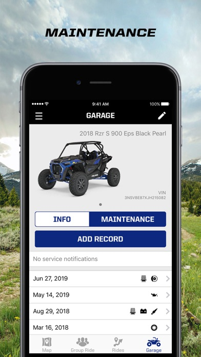 messages.download Polaris Ride Command software
