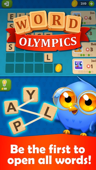 Word Olympics: Online Puzzle screenshot two