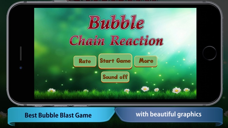 Bubble Chain Reactions