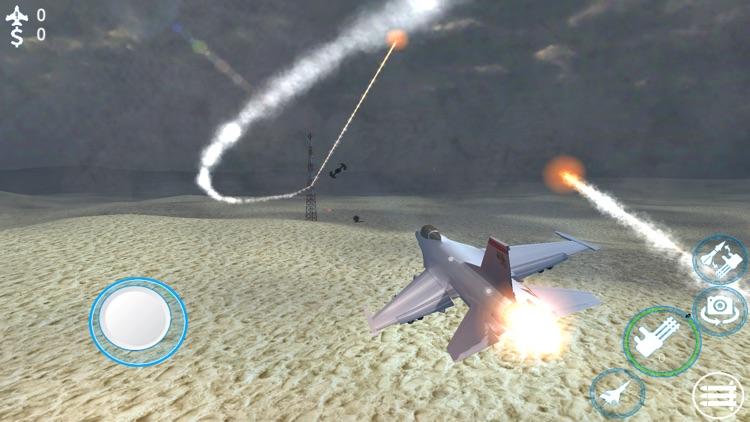 Jet Fighter Air Strike 3d