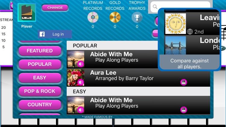Play Along Keys  piano karaoke screenshot-8