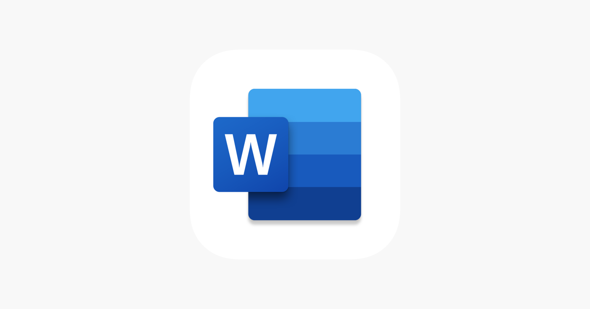 Microsoft Word on the App Store