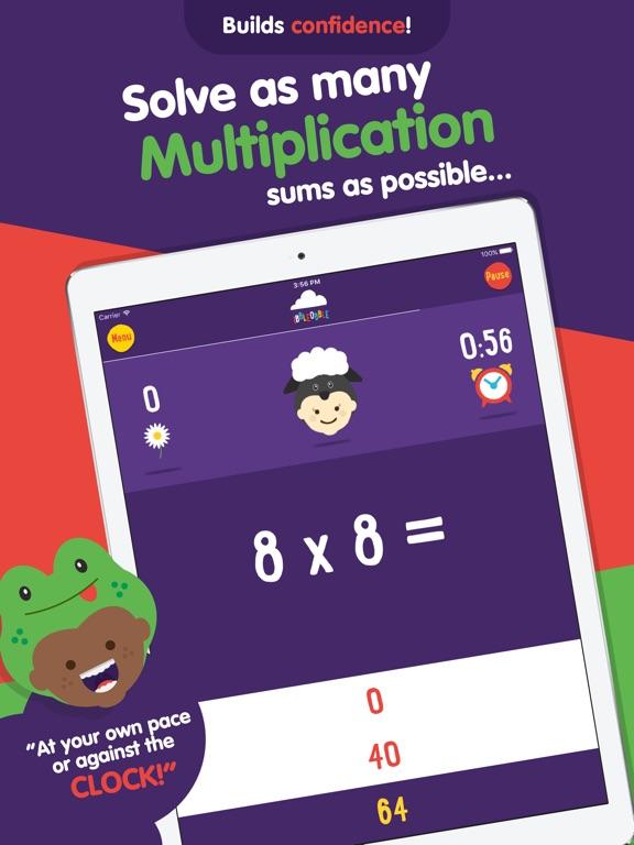 Multiplication with Ibbleobble Screenshots