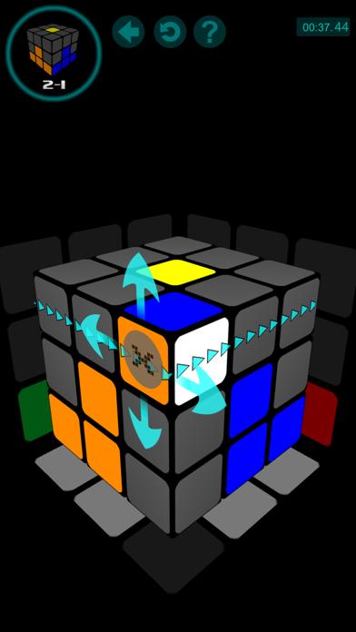 Screenshot of Risolvere il cubo4