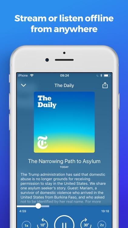 The Podcast App screenshot-3