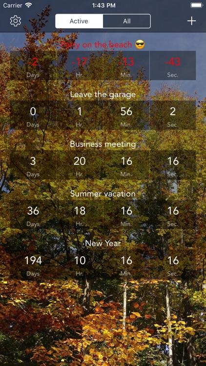 Countdown & Timer screenshot-5