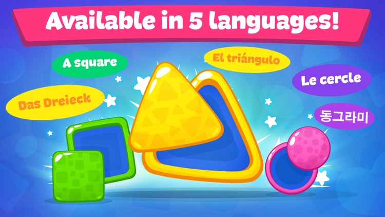 Shapes and colors - Kids games screenshot-3