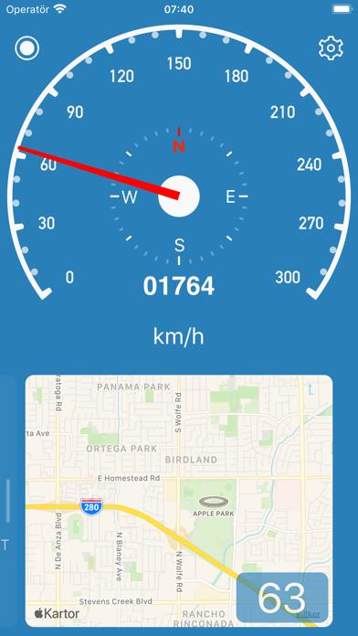 Hastighetsmätare enkel på PC
