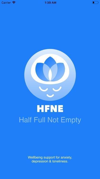Half Full Not Empty