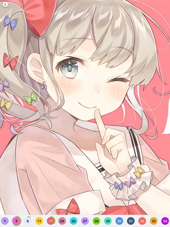 Anime Paint - 数字でアニメ塗り絵のおすすめ画像1