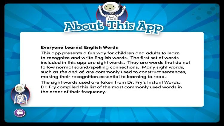 English Words 1-100 screenshot-9