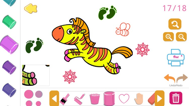 Coloring Book Paint Color Game