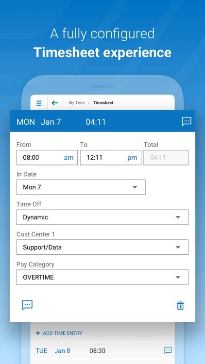Kronos Workforce Ready Mobile screenshot-3