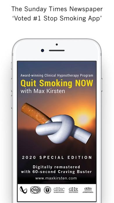 Quit Smoking NOW - Max Kirsten screenshot one