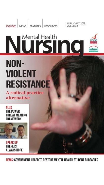 Mental Health Nursing Journal screenshot-5