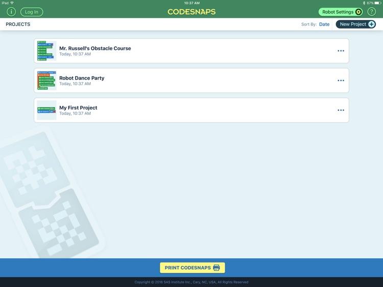SAS CodeSnaps