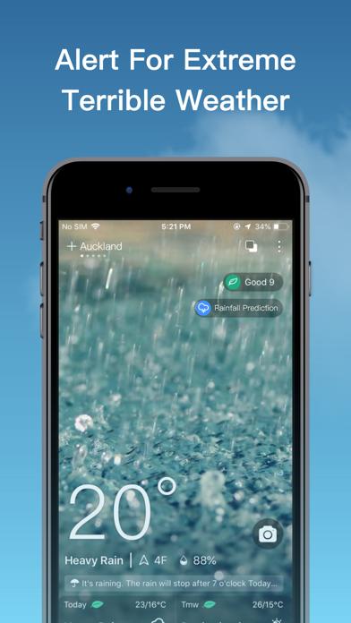 Live Weather-Local Weather App Screenshot