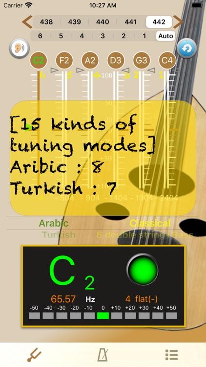 Oud Tuner - Tuner for Oud screenshot-3