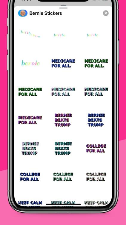 Bernie Sanders & Berniemoji screenshot-5
