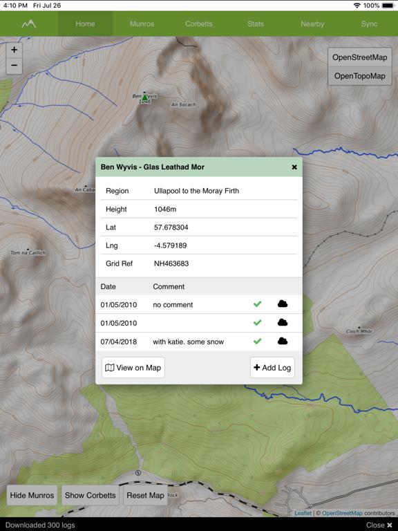 Munro Map Pro screenshot 6