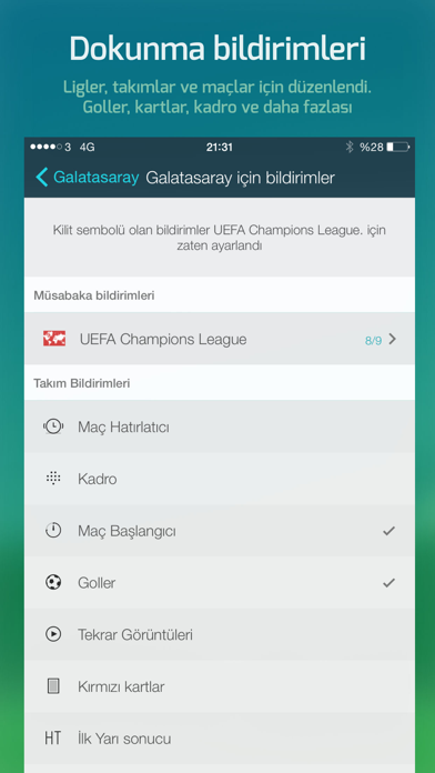 Screenshot for Forza Football in Turkey App Store