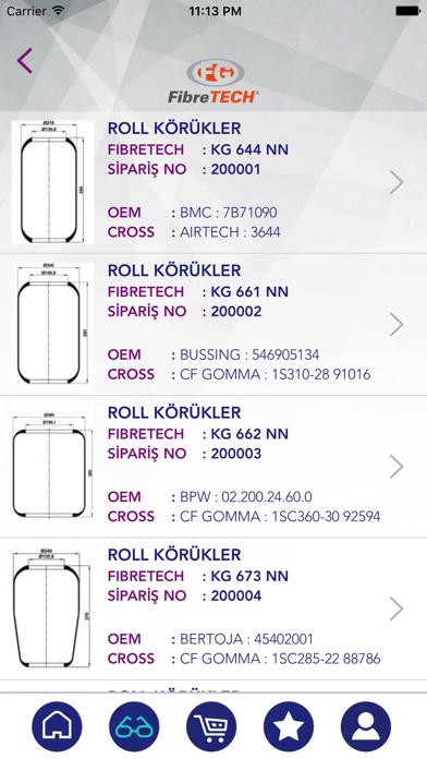 Fibretech screenshot four