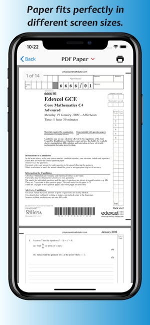 A+Papers: CIE & Edexcel IGCSE on the App Store