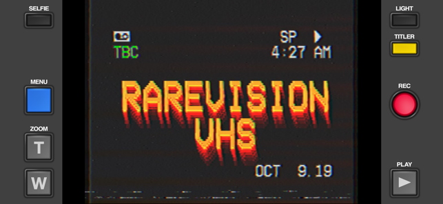 ?Rarevision VHS - Retro 80s Cam Screenshot