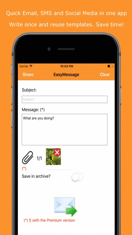 Easy Message LITE - Mass Text screenshot-0