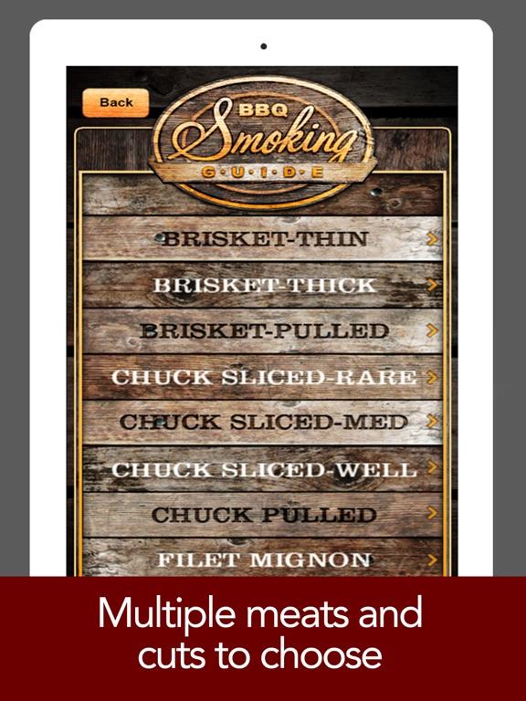 BBQ Smoking Guide! - Meat Smoker Cooking Calculator screenshot