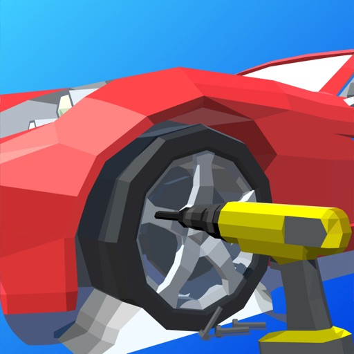 Car Restoration 3D icon
