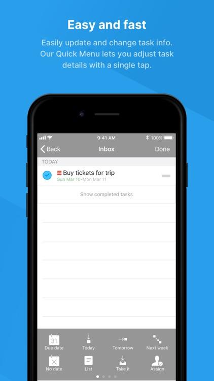Todo - ToDo & Task List screenshot-6