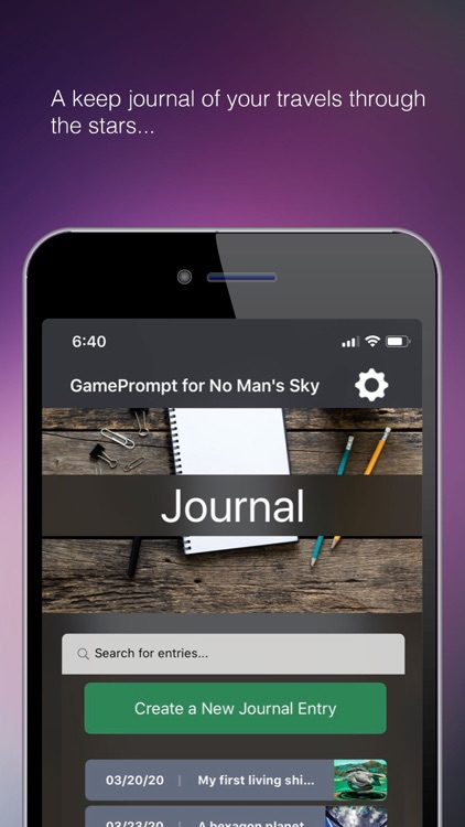 GamePrompt for No Man's Sky