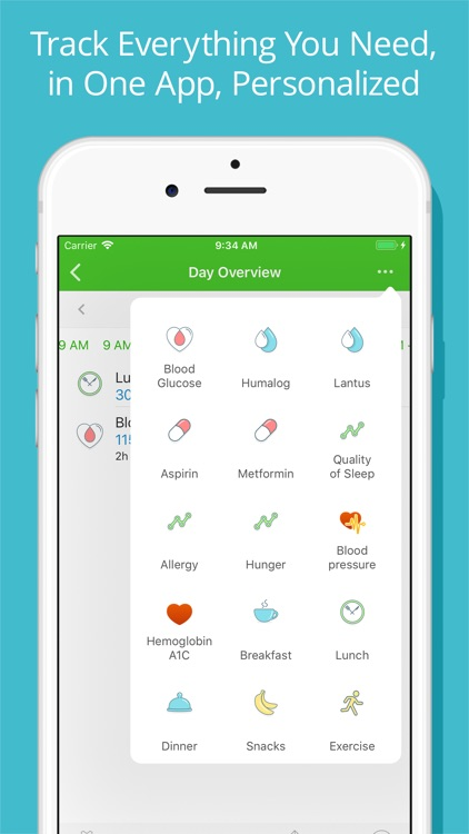 Diabetes Tracker by MyNetDiary screenshot-2