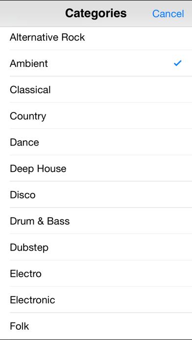 DJ Sets & remixes Screenshots