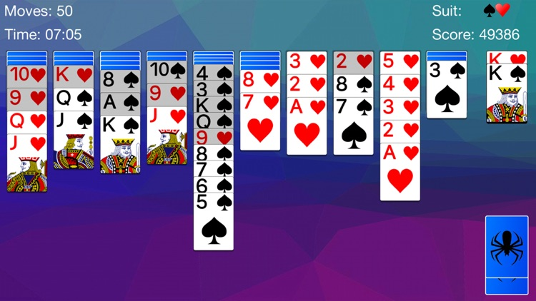 Spider Solitaire - Cards Game screenshot-6