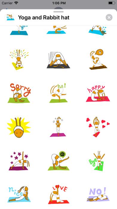 Yoga and Rabbit hat screenshot 3