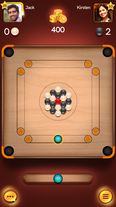 Carrom Disc Poolلقطة شاشة1