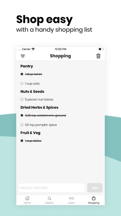 Fivesec Health - Vegan Recipes Screenshot