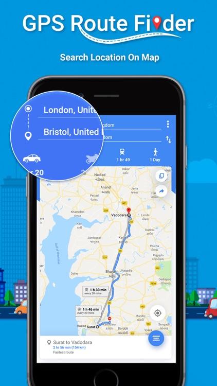 GPS Route Finder ! screenshot-4