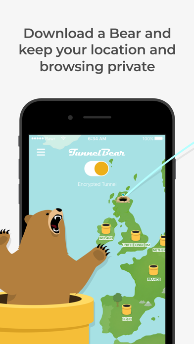 TunnelBear: Secure VPN & Wifi wiki review and how to guide