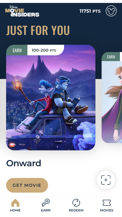 Disney Movie Insiders Screenshot