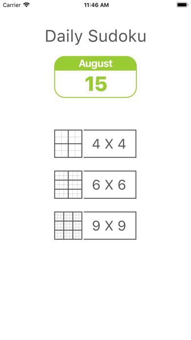 Daily Sudoku - Brain Training screenshot 4