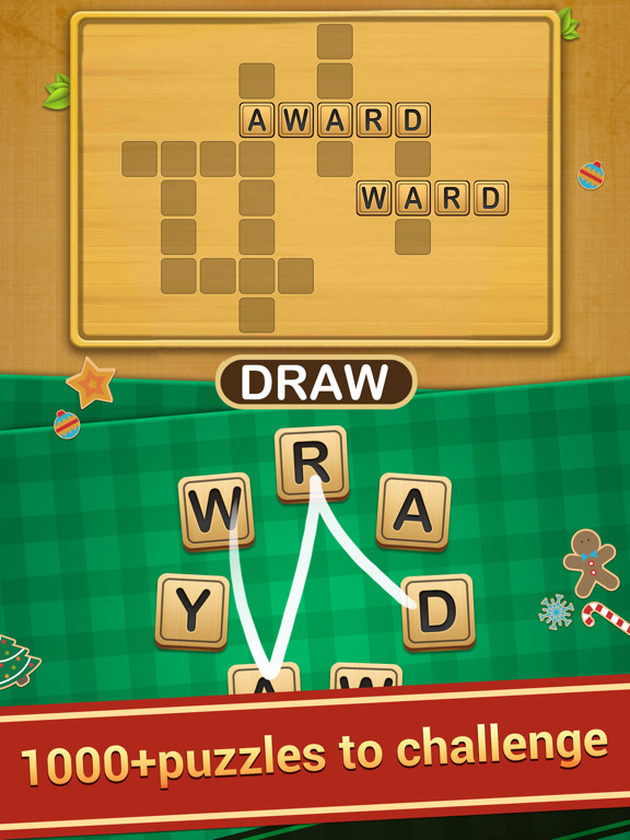 iPad Image of Word Link - Word Puzzle Game