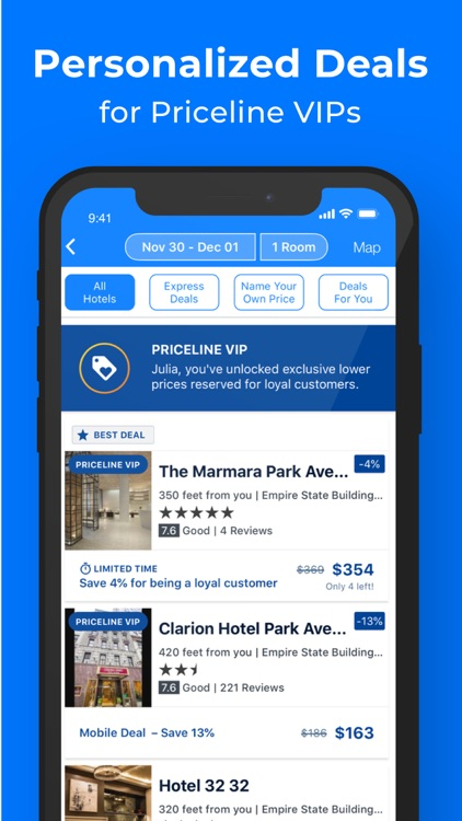 Priceline - Hotels & Flights screenshot-5