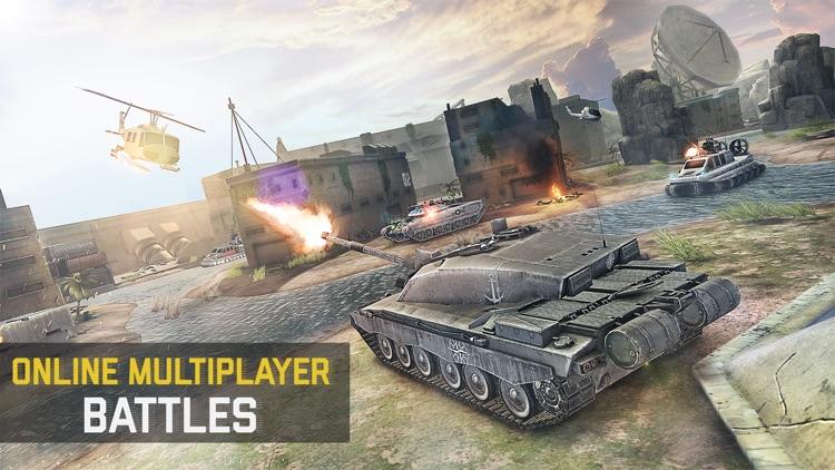 Massive Warfare: Tank War Game screenshot-3