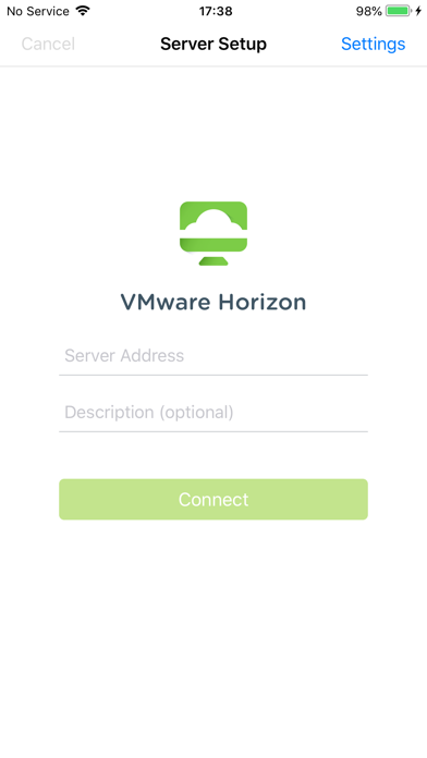VMware Horizon Client ScreenShot0