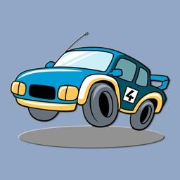 Garage Car Stickers